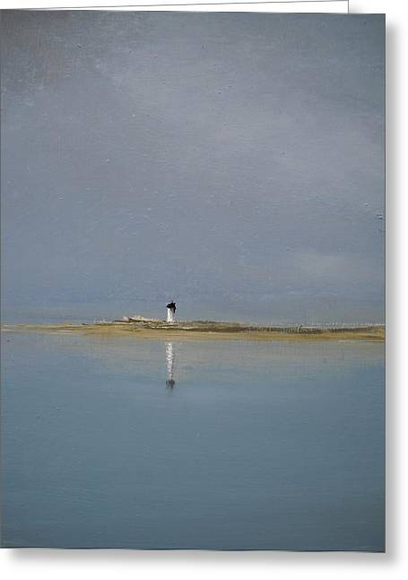 The Point Greeting Card by Michael Marrinan