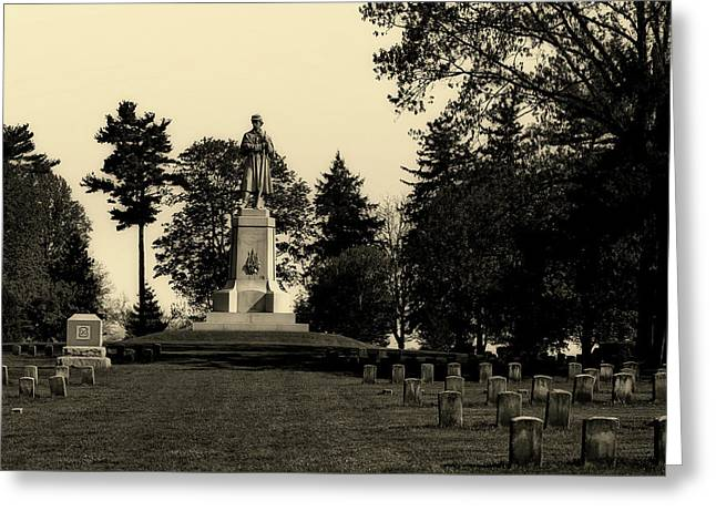 The Private Soldier Monument - Antietam Greeting Card