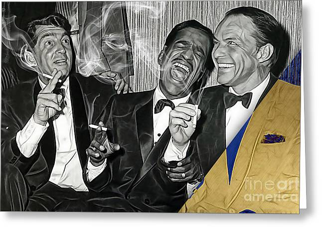 The Rat Pack Collection Greeting Card