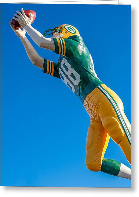 The Receiver  Greeting Card by Todd Klassy