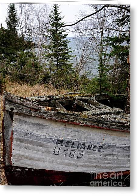 The Reliance #2 Greeting Card by Sandra Updyke