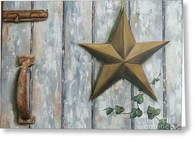 The Rusty Latch Greeting Card by Patricia Lang