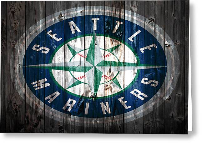 The Seattle Mariners 1a Greeting Card