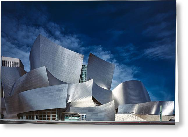 The Walt Disney Concert Hall Greeting Card