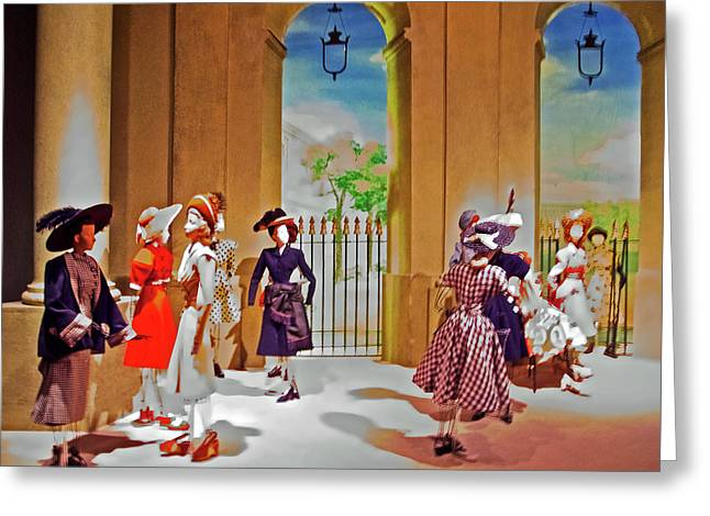 Theatre De La Mode At Maryhill Museum Of Art, Washington  Greeting Card