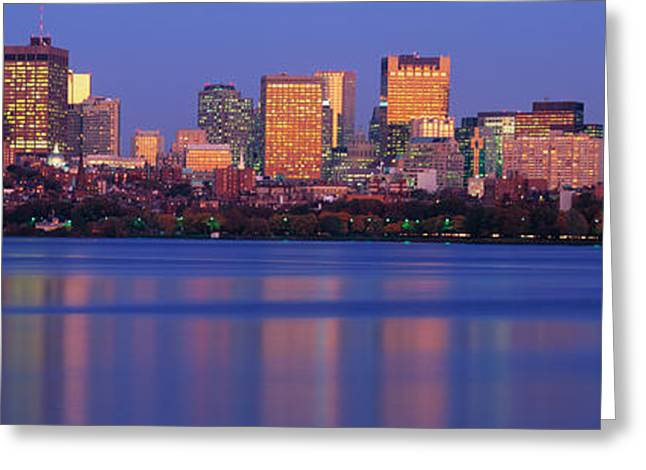This Is The State Capitol And Skyline Greeting Card