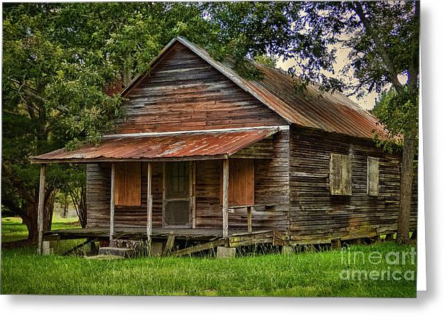 This Old House Greeting Card by Dave Bosse