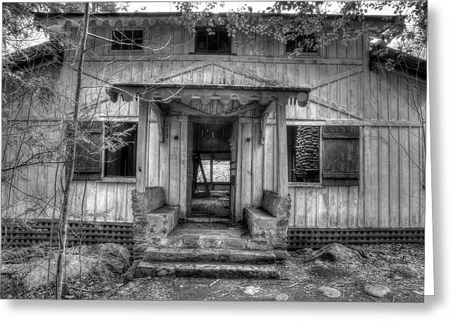 Greeting Card featuring the photograph This Old House by Mike Eingle