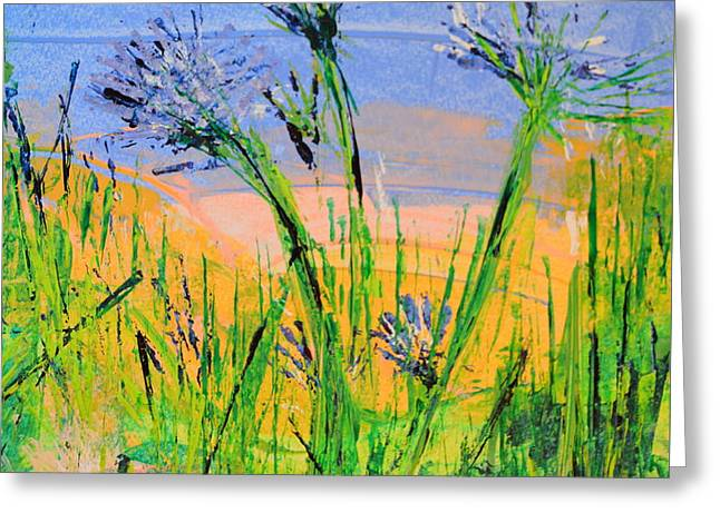 Thistles One Greeting Card