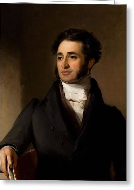 Thomas Sully Greeting Card by Jared Sparks
