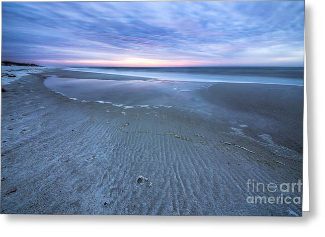 Tide Pool At Cape San Blas Greeting Card by Twenty Two North Photography