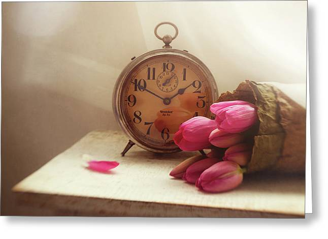 Time Stood Still Greeting Card by Amy Weiss