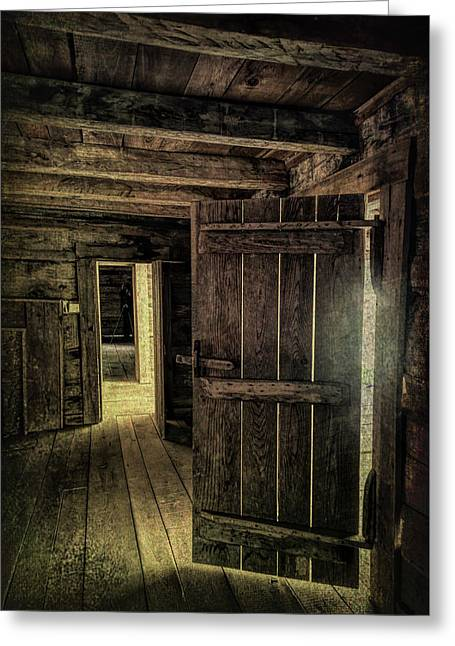 Tipton Cabin Greeting Card