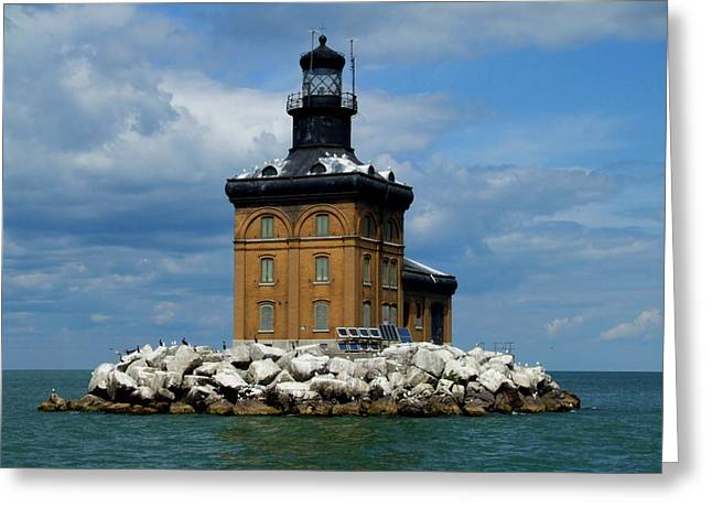 Toledo Harbor Lighthouse Greeting Card