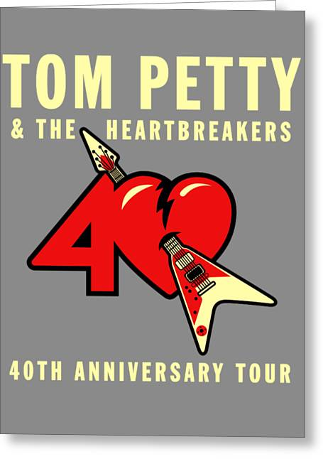 Tom Petty Greeting Card