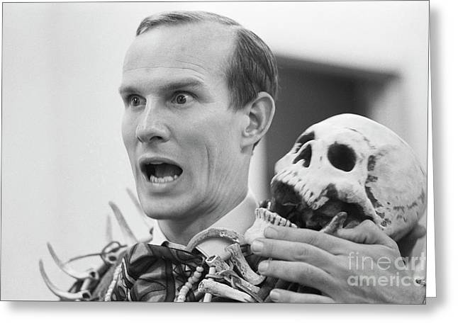 Tom Smothers On The Smothers Brothers Comedy Hour Greeting Card by The Harrington Collection