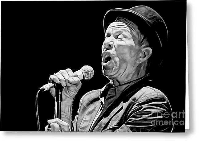 Tom Waits Collection Greeting Card