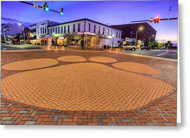 Toomer's Corner Greeting Card by JC Findley
