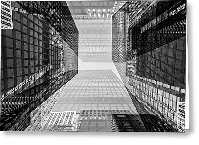 Toronto Financial District Greeting Card