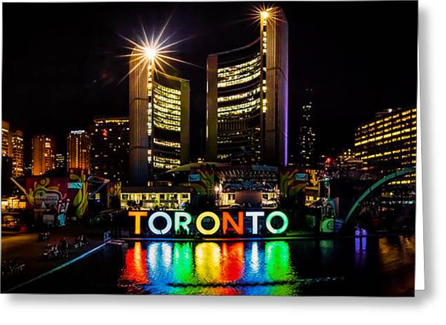 Toronto Greeting Card by Wilhelm Guerrero