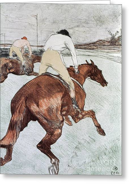 Toulouse-lautrec, 1899 Greeting Card by Granger