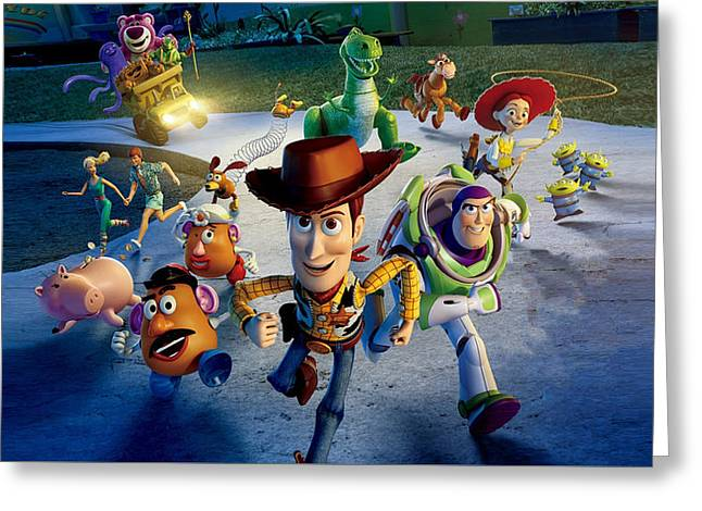 Toy Story 3 Greeting Card