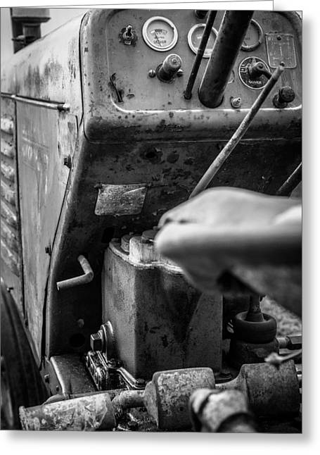 Tractor 7 Greeting Card by Gestalt Imagery