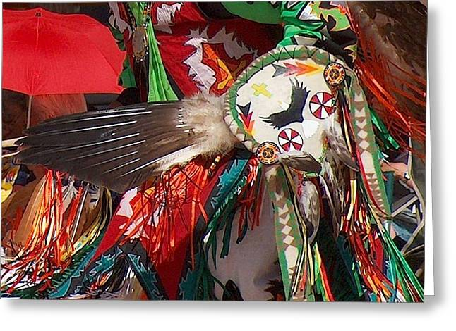 Traditional Dancer Detail Greeting Card