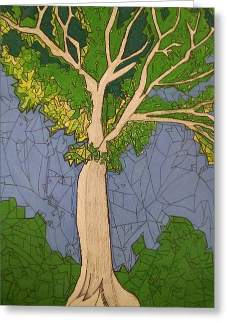 Tree  Greeting Card by William Douglas