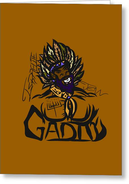 Tribe Of Gad Greeting Card
