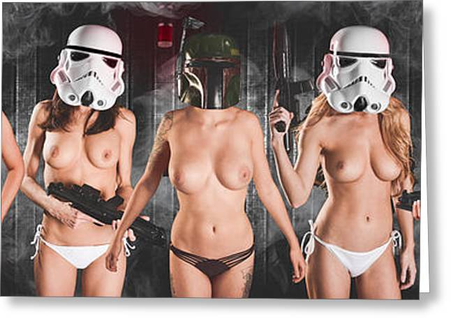 Trooper Army Greeting Card