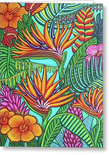 Tropical Gems Greeting Card