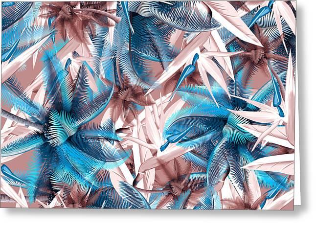Tropical  Greeting Card by Mark Ashkenazi