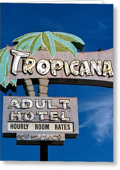 Tropicana Greeting Card
