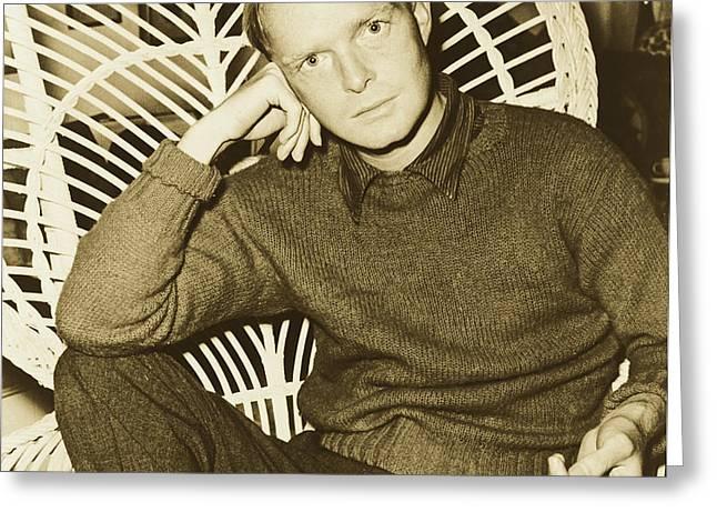 Truman Capote 1958 Greeting Card