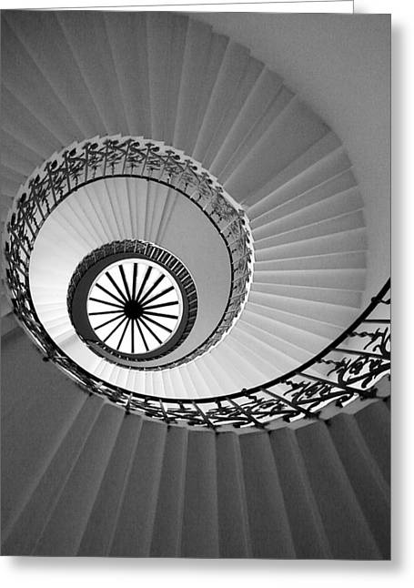 Tulip Staircase Greeting Card