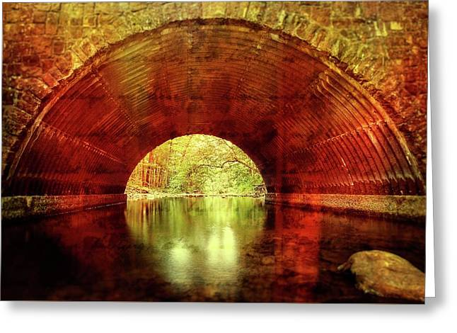 Greeting Card featuring the photograph Tunnel Vision by Alan Raasch