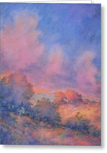 Twilight Time No 1 Greeting Card