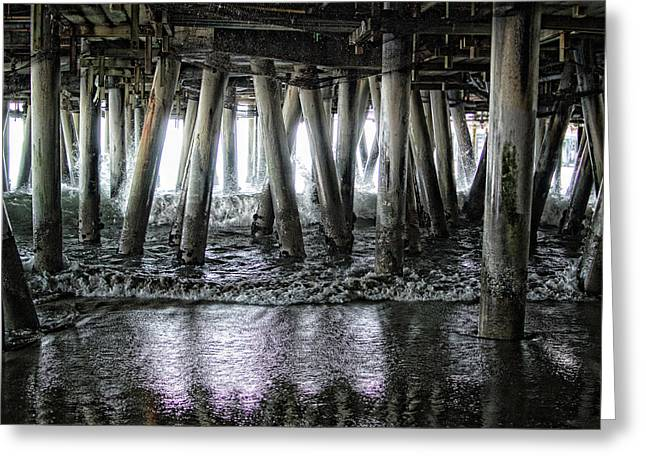 Under The Pier 2 Greeting Card