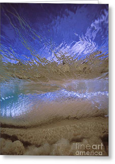 Underwater Abstract Greeting Card by Vince Cavataio - Printscapes