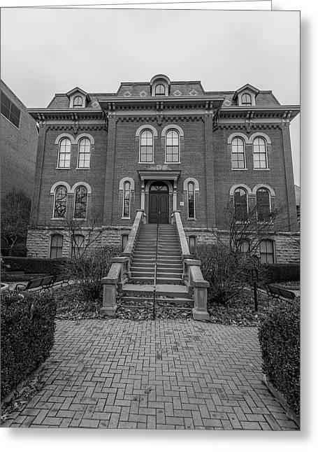 University Of Illinois Harker Hall  Greeting Card by John McGraw