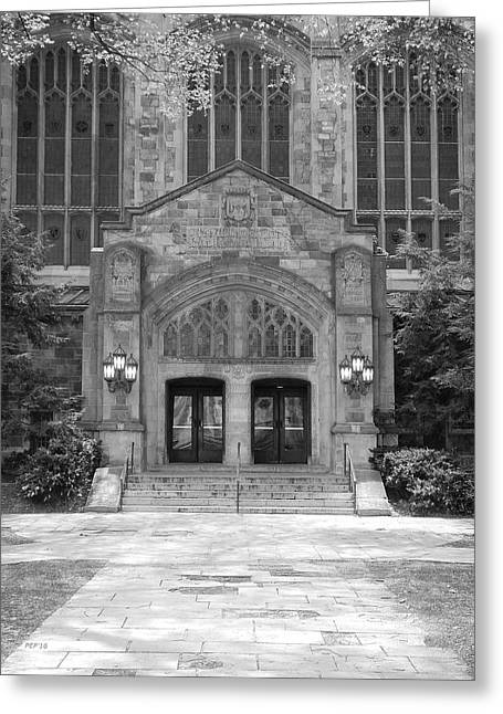 University Of Michigan Law Quad Greeting Card