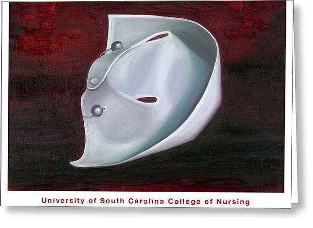 University Of South Carolina College Of Nursing Greeting Card by Marlyn Boyd