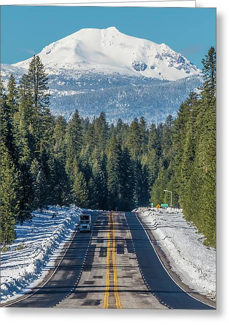 Up To The Mountain Greeting Card