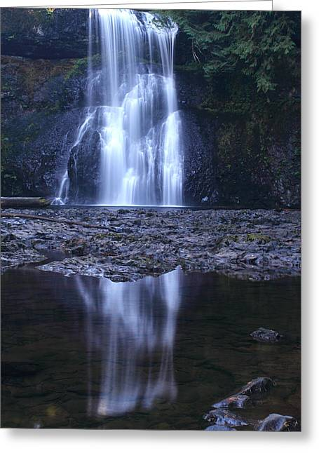 Upper North Falls Greeting Card
