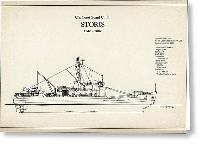U.s. Coast Guard Cutter Storis Greeting Card