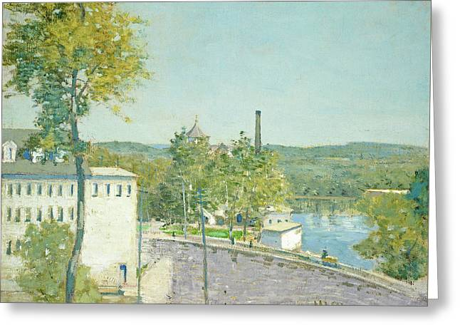 U.s. Thread Company Mills, Willimantic, Connecticut Greeting Card