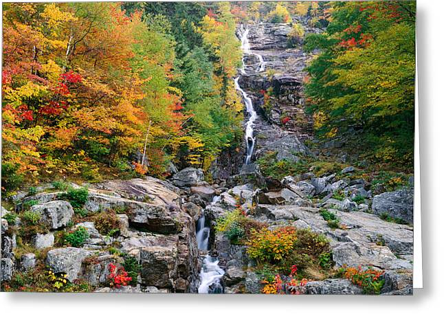 Usa, New Hampshire, White Mountains Greeting Card by Panoramic Images