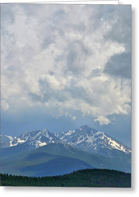 Greeting Card featuring the photograph Vail Colorado Series 2 by Steven Richman