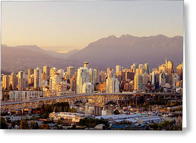Vancouver British Columbia Canada Greeting Card